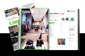 Catálogo general Iluminación LED para comercios e interiorismo