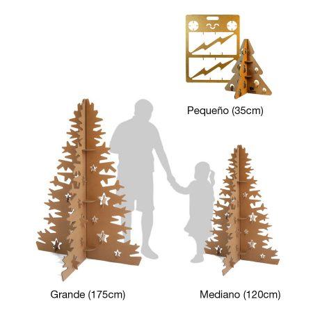 Árbol-navidad-ecológico-cartón-regalo