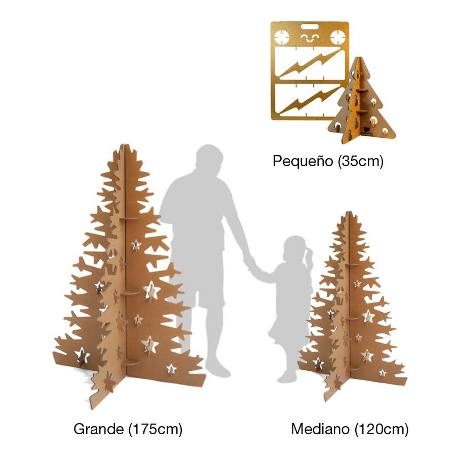 rbol navidad ecolgico cartn regalo - Arbol De Navidad De Carton
