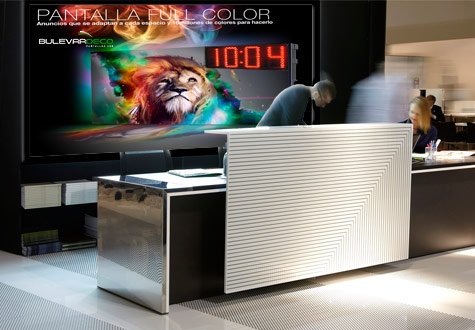 Pantallas LED de alta luminosidad digital signage