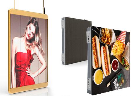 Pantalla-alta-luminosidad-digital signage-publicidad digital