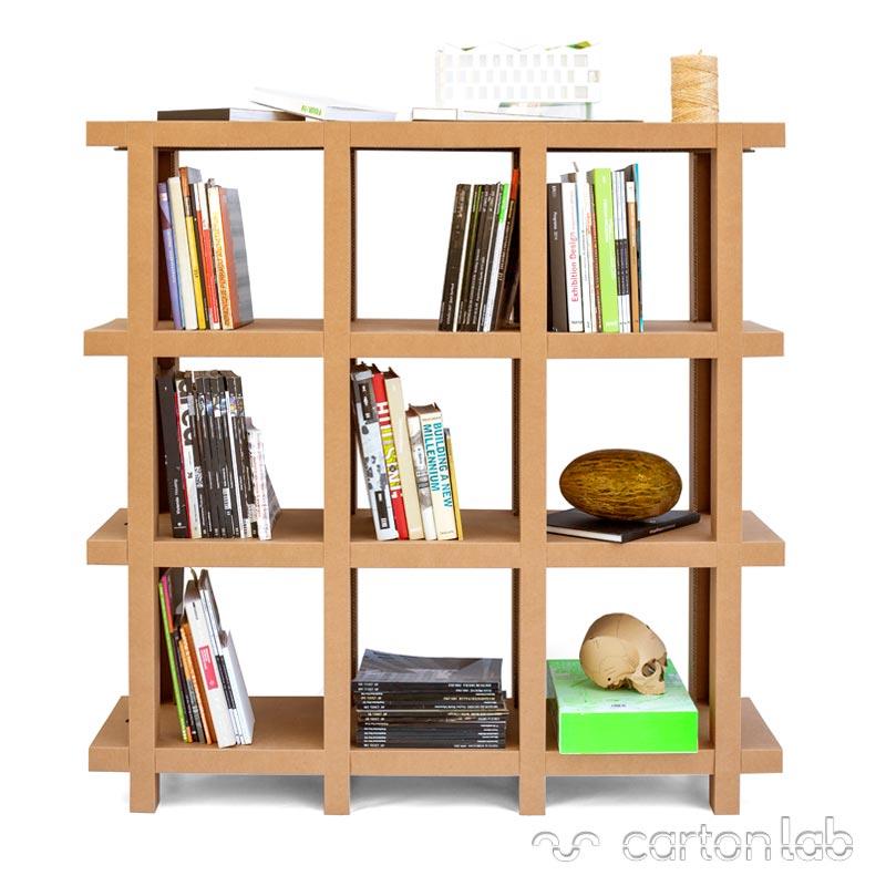 Estanteria de productos para tiendas bulevardeco - Estanteria carton ...