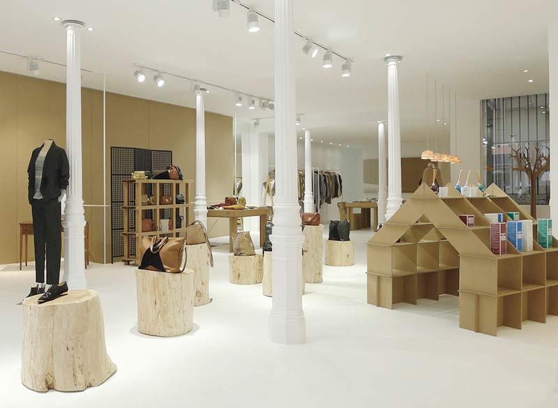 Decoración en cartón-muebles-ecológicos-cartón