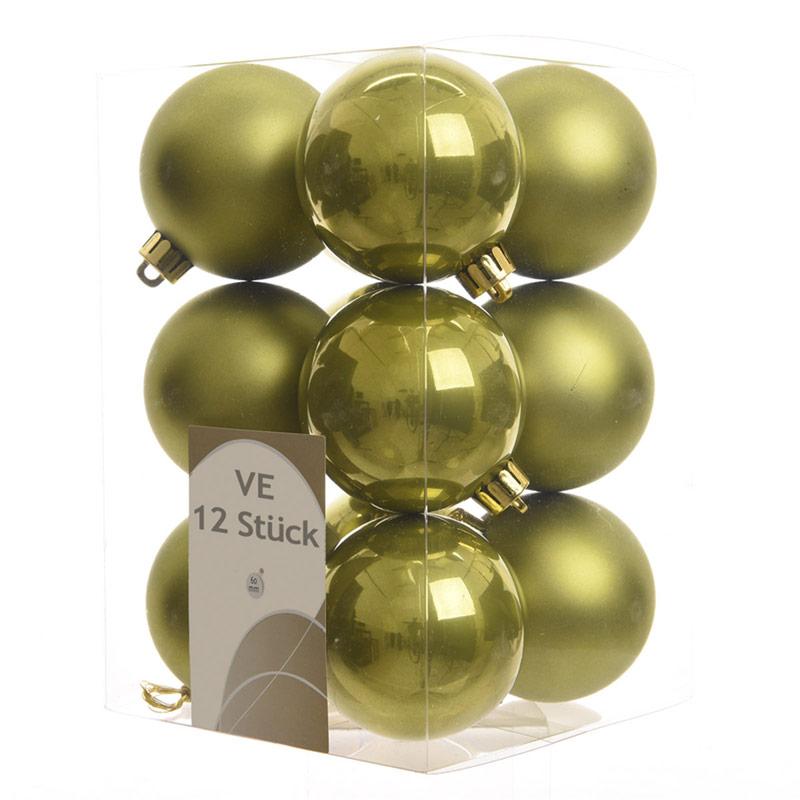 Bolas de navidad doradas pack 12 uds 6cm bulevardeco - Bolas de navidad doradas ...