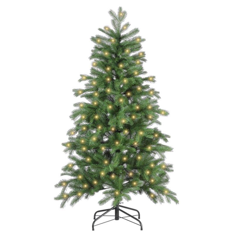 Rbol de navidad con luces led 210cm bulevardeco - Arbol navidad led ...
