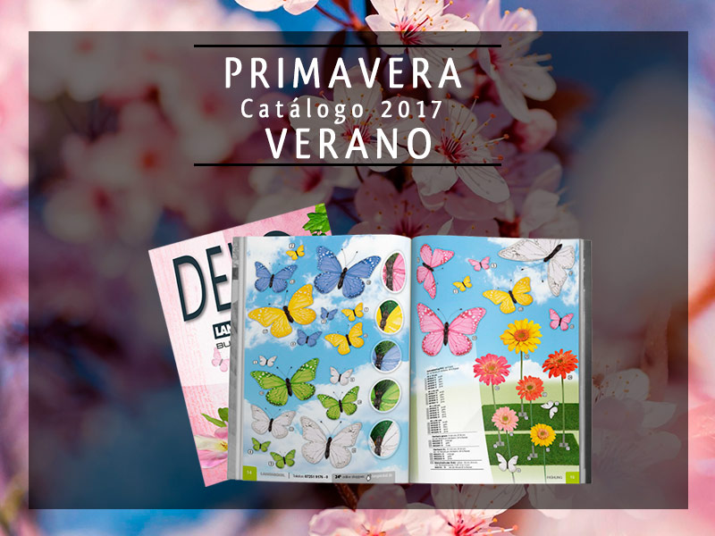 Cat logo decoraci n escaparates primavera verano 2017 for Catalogo decoracion