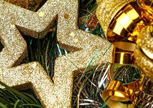 Decoración escaparates de navidad