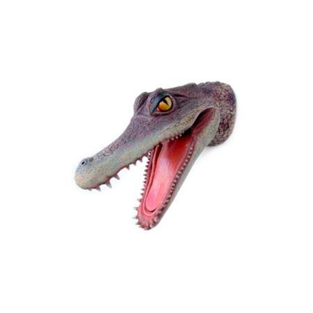 cabeza cocodrilo aligator