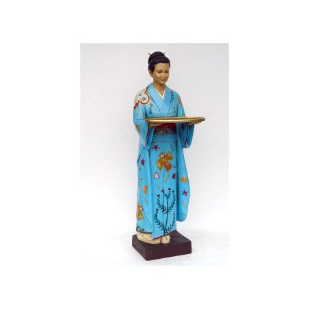 Geisha japonesa a tamaño real