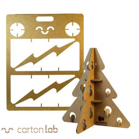 Árbol de navidad en cartón