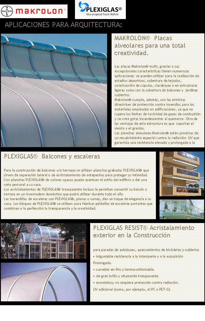 fabricación de productos en plexiglas y madrolon