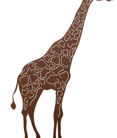 Figura de jirafa 63x100cm decoración escaparate, Decoración escaparates, Decoración verano, Decoración veraniega, escaparates de verano, escaparates decorados, Decoración primavera, Decoración de viajes