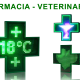Rotulo-banderola LED cruz de farmacia