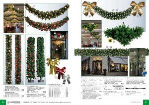 Decoración escaparates navidad para tiendas, hoteles, centros comerciales y supermercados