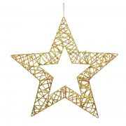 ESTRELLA DE NAVIDAD DORADA TROQUELADAØ 40 CM, decoración escaparates de navidad, consejos decoración de navidad, adornos árbol de navidad, ideas decorativas para tiendas en navidad.