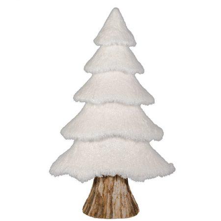 ÁRBOL ABETO NEVADO XL BLANCO 115 CM, decoración escaparates de navidad, consejos decoración de navidad, adornos árbol de navidad, ideas decorativas para tiendas en navidad.