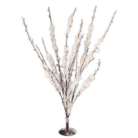 ADORNO ARBUSTO NEVADO 60 CM, decoración escaparates de navidad, consejos decoración de navidad, adornos árbol de navidad, ideas decorativas para tiendas en navidad.