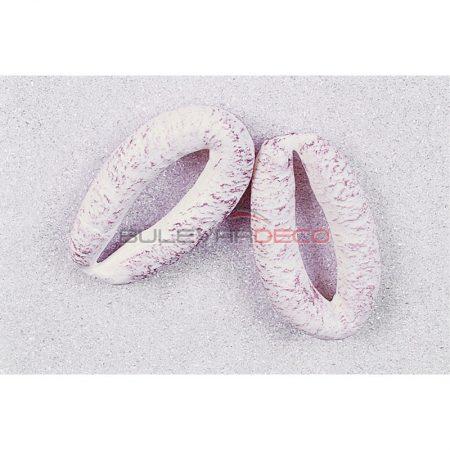EMBUTIDO CHORIZO TRIPA BLANCA 18x11 CM, comida, alimentos ficticios, fake food, réplica de comida, réplica de alimentos, alimentos de plástico decorativos, imitación de comida, imitación de alimentos, alimentos no perecederos