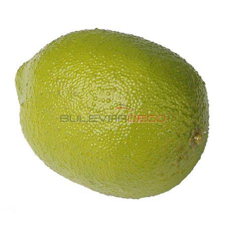 Limón verde, Replica de comida, ficticio de alimentos, fake food, alimentos de plástico