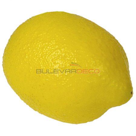 Limón amarillo, Replica de comida, ficticio de alimentos, fake food, alimentos de plástico