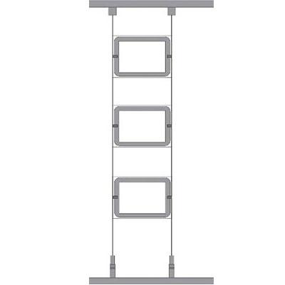 MARCO LED inmobiliaria kit2 3-A4 horizontal, MARCO LED inmobiliaria kit2 3-A3 horizontal, MARCO LED inmobiliaria kit2 6-A3 horizontal, MARCO LED INMOBILIARIA, Carpeta led inmobiliaria alta luminosidad, expositor led inmobiliaria, sistema de cables para marcos led