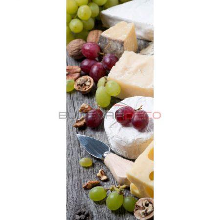 BANNER-POSTER QUESOS 75X180CMréplica de comida, alimentos ficticios, réplica de alimentos, imitación alimentos, fake food, comida de imitación, sampuru